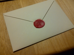 手紙作りました